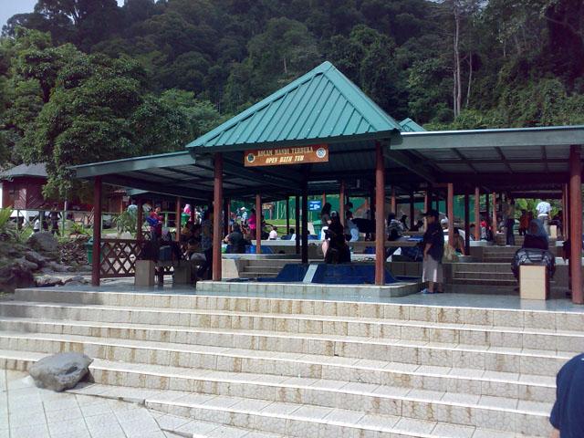 Kinabalu trip - Mount Kinabalu Park - Hot Spring