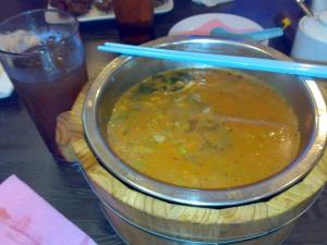 Kinabalu trip - Korean restaurant - Beef Noodle Soup
