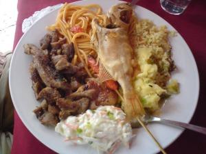 Kinabalu trip - Sapi Island - Lunch meal