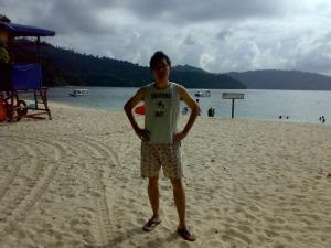 Kinabalu trip - Sapi Island - The Beach