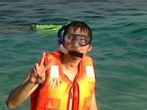 Karimunjawa trip - Cemara Besar Island - Snorkeling - Timothy W Pawiro