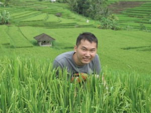 Bali Trip - Jatiluwih - in the rice terrace