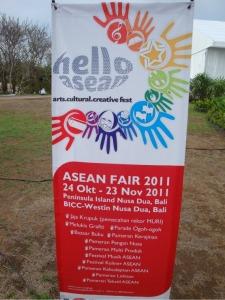 Bali Trip - Nusa Dua - ASEAN Fair - hello asean