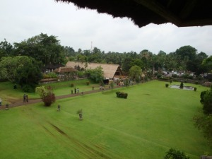 Bali Trip - Taman Ayun - A view from the tower