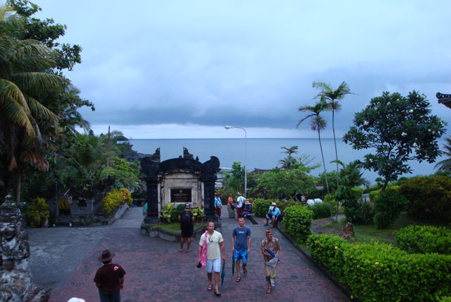 Bali Trip - Tanah Lot - A view from the entrance