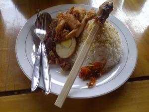 Bali Trip - Ubud - Nasi Ayam Kedewatan Ibu Mangku