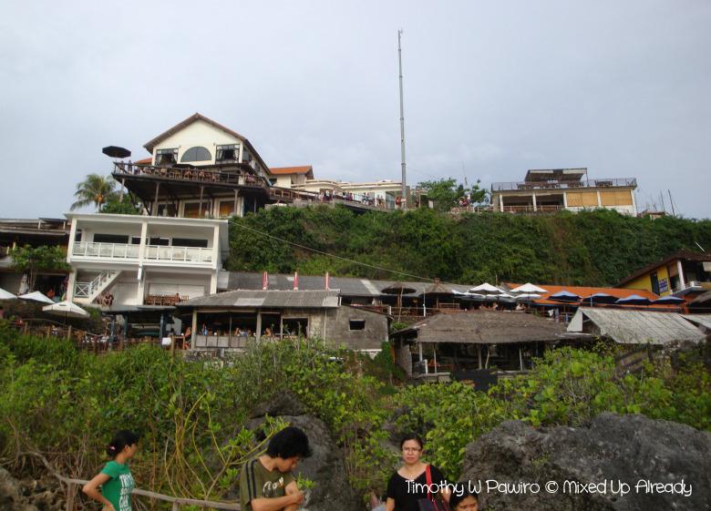 Indonesia - Bali - Suluban beach - Cafes