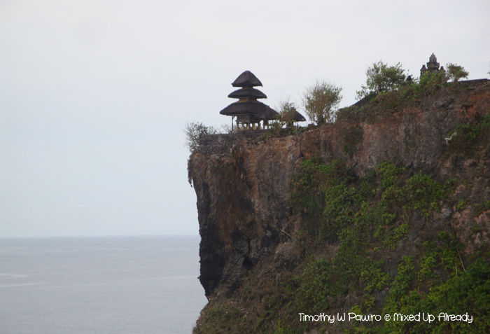 Indonesia - Bali - Uluwatu - The temple on the tip of the cliff