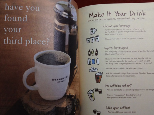 Starbucks Planner - Front Page