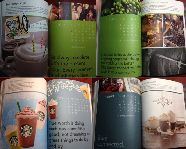 Starbucks Planner - May - August
