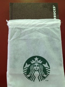 Starbucks Planner - with the cover