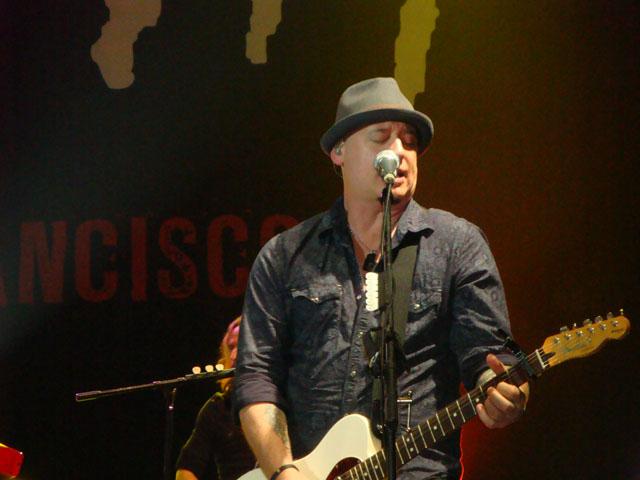 Train Jakarta Concert - Jimmy Stafford - Lead Guitarist