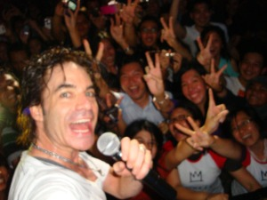 Train Jakarta Concert - Patrick (Pat) Monahan using my camera
