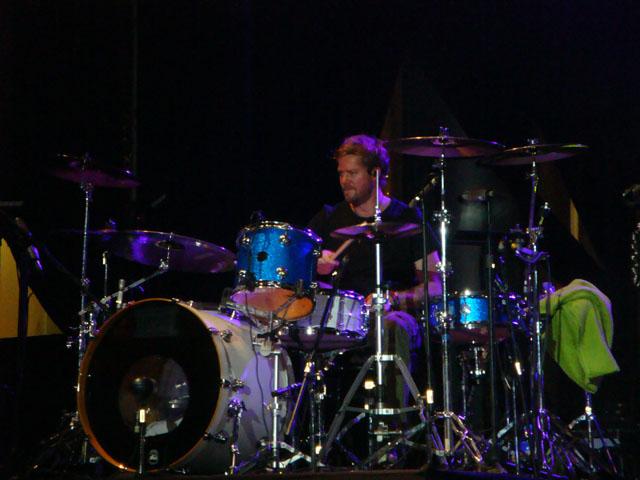 Train Jakarta Concert - Scott Underwood - Drummer