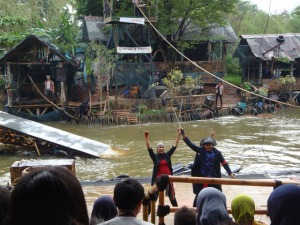 Ancol trip - The Scorpion Pirates Show
