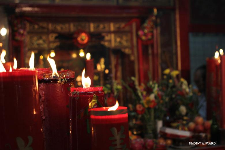 Happy Chinese New Year - Petak Sembilan - Vihara Dharma Bakti - The Candles