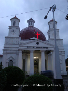 Semarang (Indonesia) trip - Kota Tua - Gereja Mbledug