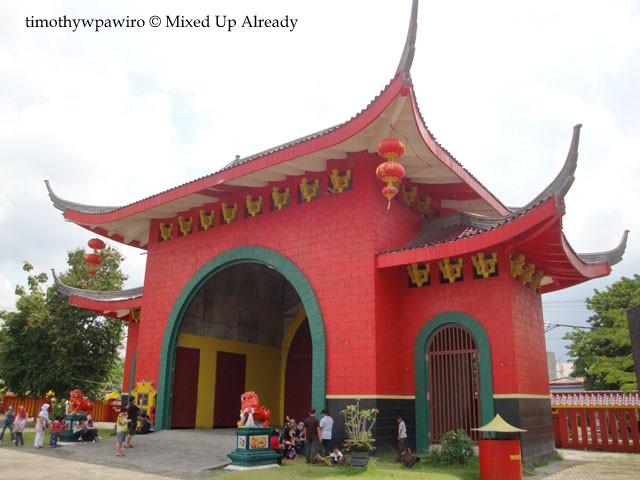 Semarang (Indonesia) trip - Sam Poo Kong Temple - The Back Gate