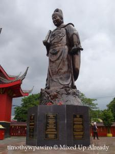 Semarang (Indonesia) trip - Sam Poo Kong Temple - The Bronze Statue of Zeng He