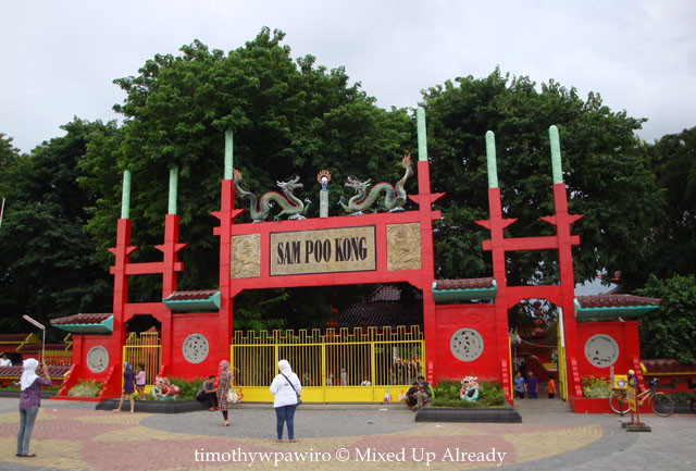 Semarang (Indonesia) trip - Sam Poo Kong Temple - The main gate