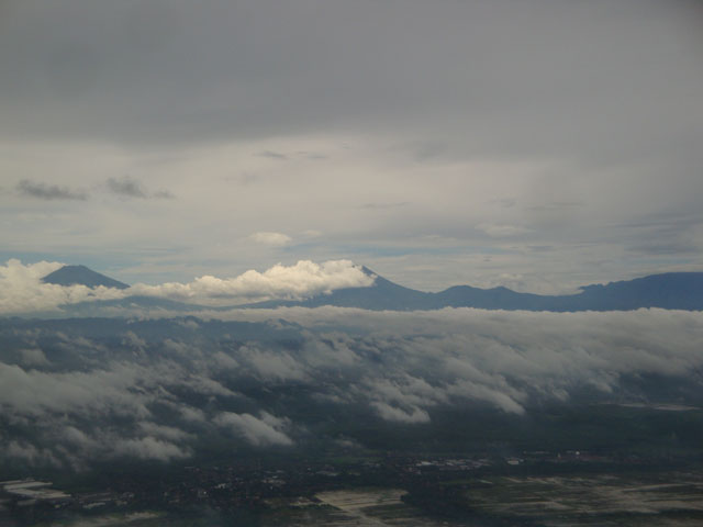 Semarang trip - A view from the plane