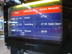 Semarang trip - SHIA Terminal 2 - Boarding time