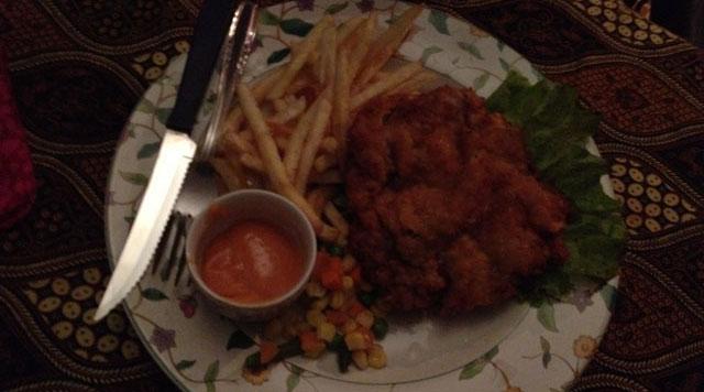 Jogja Trip - Bedhot Resto - Wiener Schnitzel