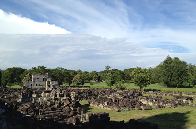 Jogja Trip - Candi Prambanan - Scattered stones which ones were temples