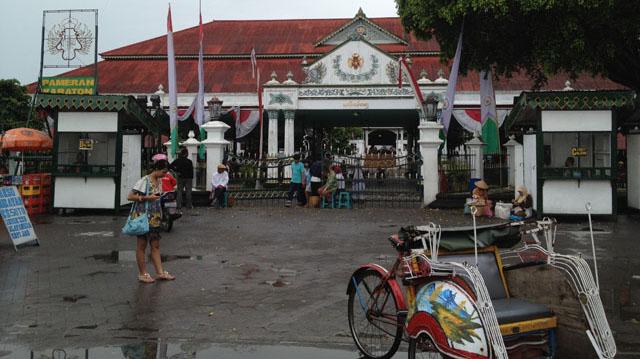Jogja Trip - Keraton Jogja - Entrance from Alun-alun Utara