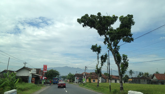 Jogja Trip - Scenery on the way to Candi Borobudur