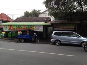 Solo trip - Bakso Alex - Jalan Gajah Mada (near Ibis Hotel)