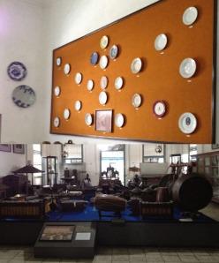 Solo Trip - Museum Radya Pustaka - Antique Plates & Gamelan