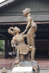 Solo trip - Taman Sriwedari - The statue