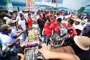 Festival Teluk Jailolo - Grilled Fish Festival
