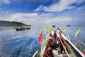 Festival Teluk Jailolo - Ritual Laut Ceremony
