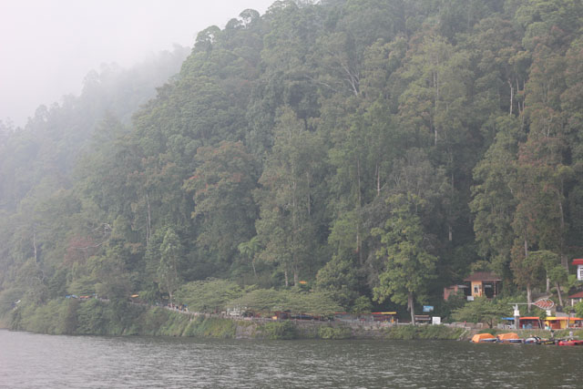 Solo trip - Telaga Sarangan - The fog is comming