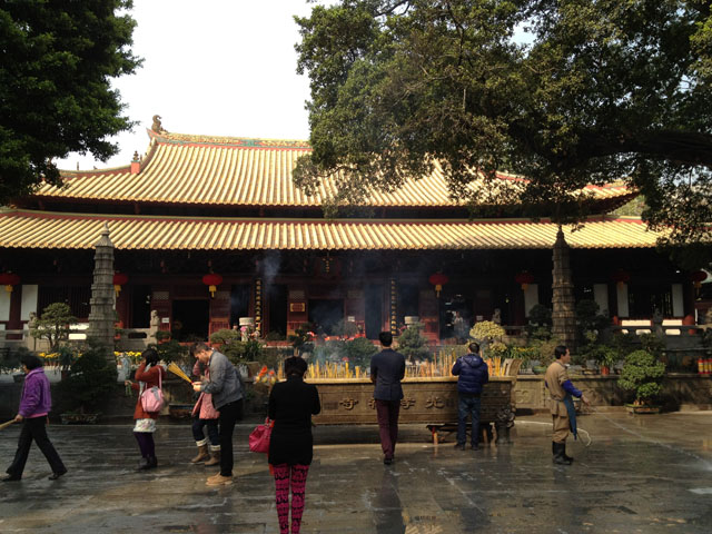 China trip - Guangzhou - Bright Filial Piety Temple (Guangxiao temple) - The complex