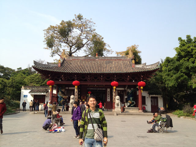 China trip - Guangzhou - Bright Filial Piety Temple - Guangxiao temple - The gate