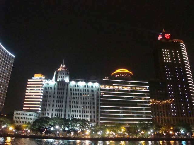 China trip - Guangzhou - Pearl River Night Cruise - Aiqun Mansion