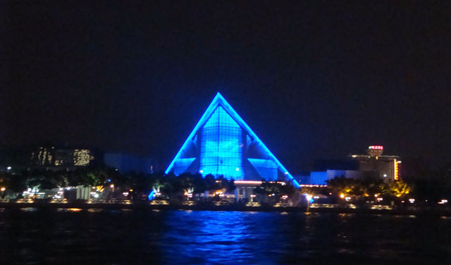 China trip - Guangzhou - Pearl River Night Cruise - Xinghai Concert Hall