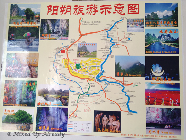 China trip - Guilin - Map & Activities