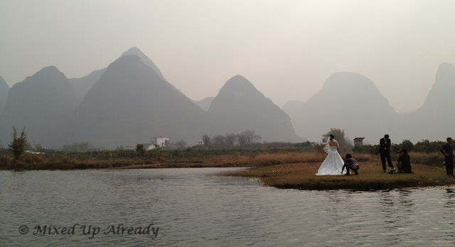 China trip - Guilin - Yulong (Yu Long) River Cruise - Pre-wedding photo session