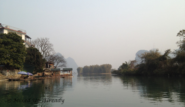 China trip - Guilin - Yulong (Yu Long) River Cruise - The scenery