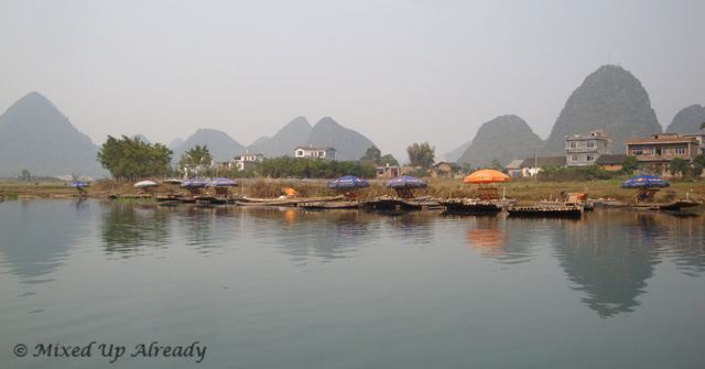 China trip - Guilin - Yulong (Yu Long) River Cruise
