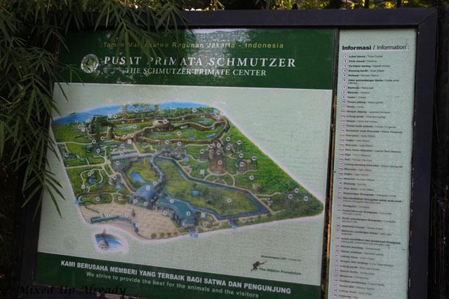 Ragunan zoo - Schmutzer - Map of Schmutzer