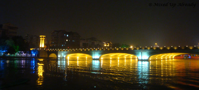 China trip - Guiln - Two Rivers and Four Lakes Cruise - Another bridge