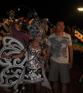 Solo trip - Solo Batik Carnival - Sriwedari Stadium - Me