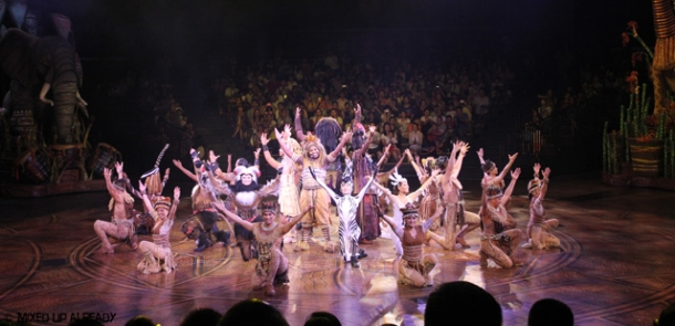 Disneyland Hong Kong - Adventureland - Festival of Lion King - The Casts