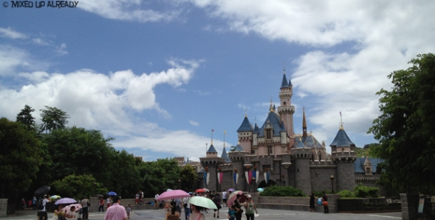 Disneyland Hong Kong - Fantasyland - Sleeping Beauty Castle