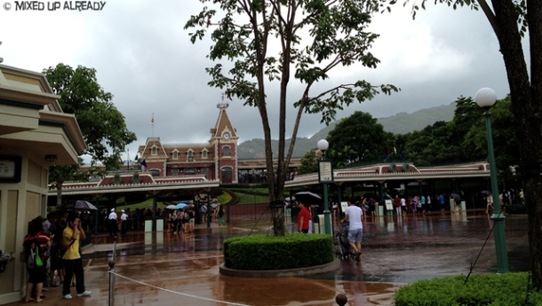 Disneyland Hong Kong - Rainy Day